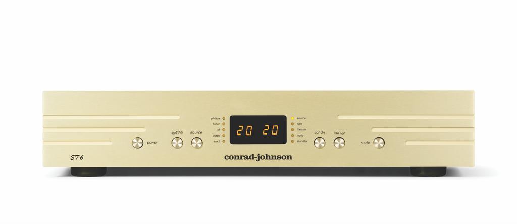 Conrad Johnson ET6 SE & Classic 62 SE – Chuẩn mực tái tạo âm thanh từ một thương hiệu gạo cội ảnh 5