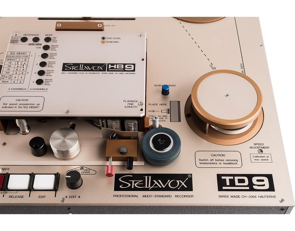 Đầu băng cối siêu hiếm Stellavox PRO TD-9 bất ngờ hồi sinh, giá lên đến 1 tỉ đồng ảnh 2