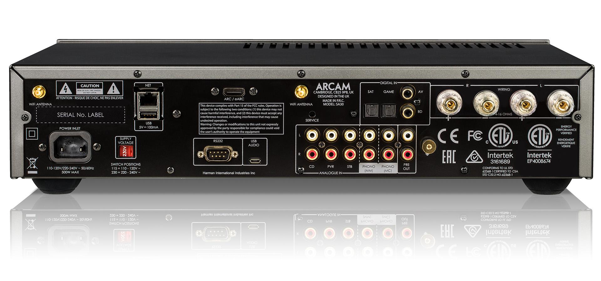 Arcam SA30 – усилитель года по версии EISA