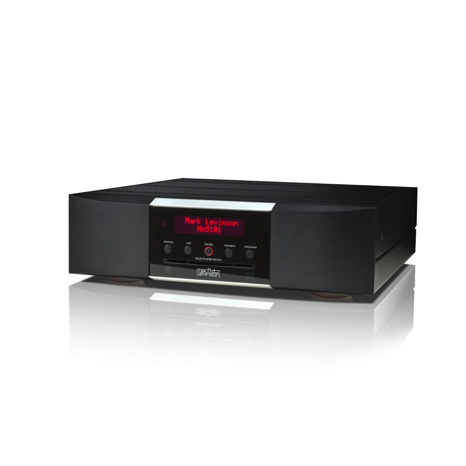 № 5101 - Black - Network Streaming SACD Player and DAC - Hero