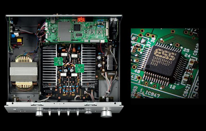 Amply Yamaha công nghệ hiện đại
