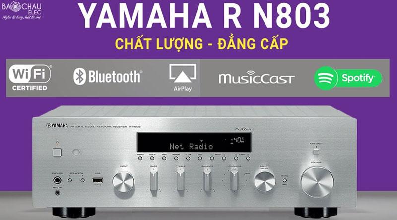 Thiết kế amply Yamaha đẳng cấp