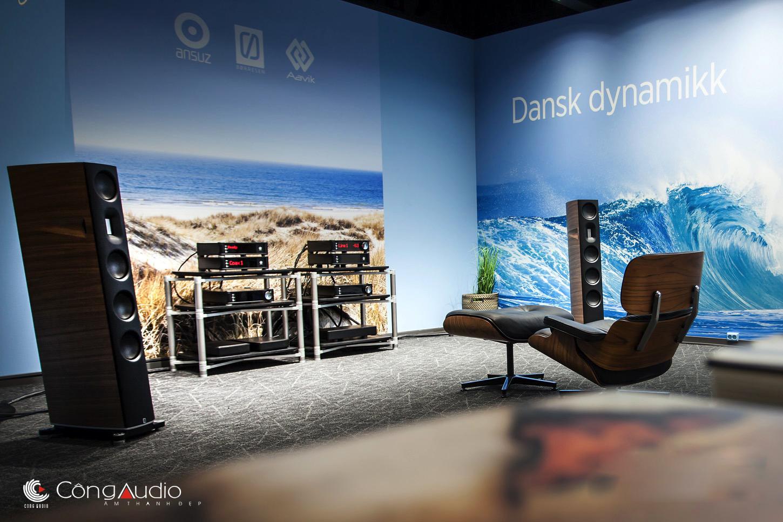 Ampli Đan Mạch cao cấp với chất âm Bắc Âu đặc trưng