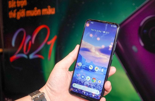 Mẫu smartphone Nokia 5.4 vừa ra mắt /// Ảnh: T.L