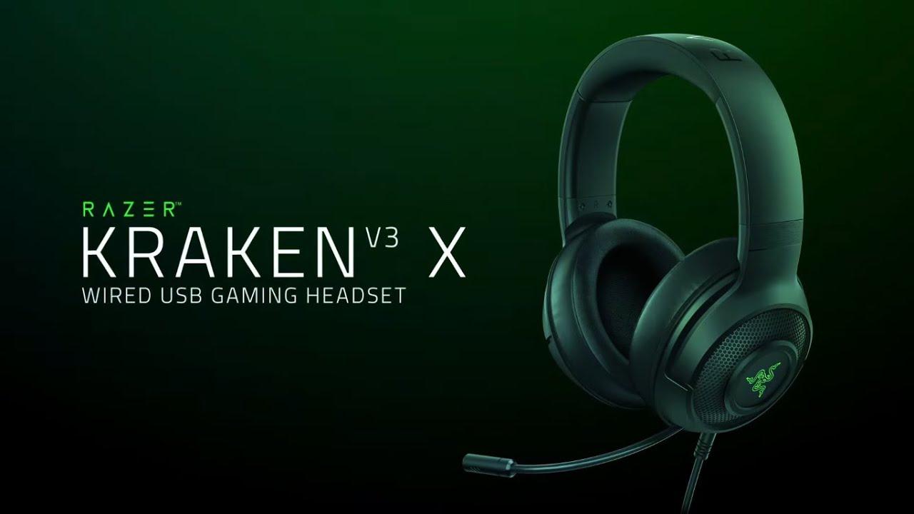 Tai nghe game Kraken V3 X - Bản nâng cấp đáng giá