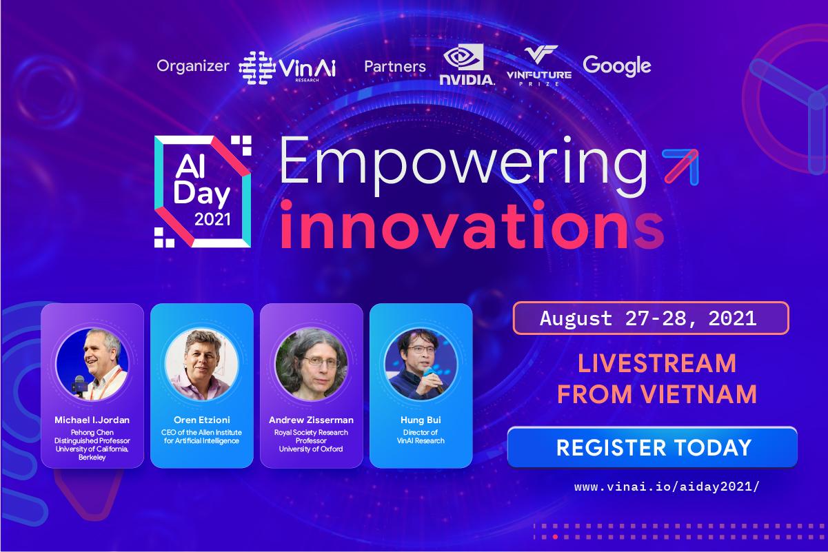 """Ngày Trí tuệ nhân tạo 2021: Nơi hội tụ những """"siêu sao AI"""" hàng đầu thế giới"""